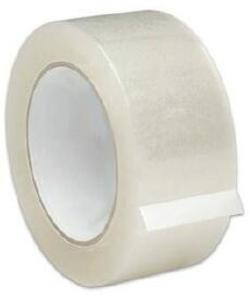 Clear Parcel Tape - 50mm X 66m - 1 Roll or Box