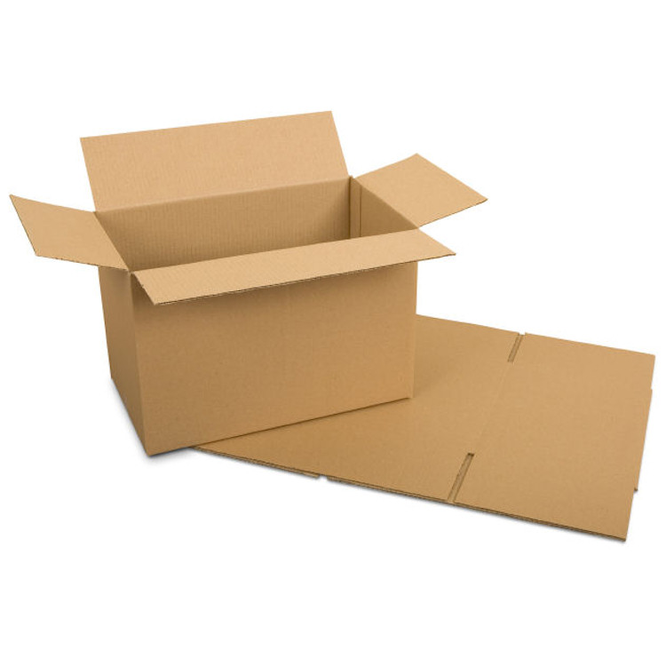 Cardboard Box Royal Mail Small Parcel  Packaging 6 x 6 x 6 inch Single Wall